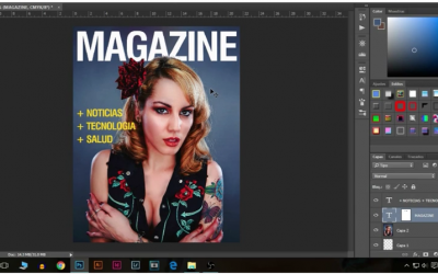 Crea una Portada de Revista con Photoshop
